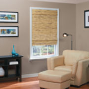 JCPenney Home™ Burnout Bamboo Cordless Roman Shade