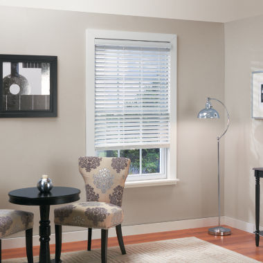 "jcpenney.com | 2"" Faux-Wood Cordless/Wandless Horizontal Blinds"
