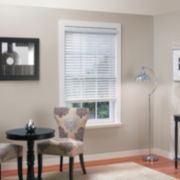 "2"" Faux-Wood Cordless/Wandless Horizontal Blinds"