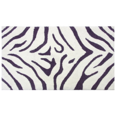 jcpenney.com | Bacova Animal Print Cotton Bath Rug