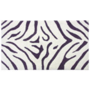 Bacova Animal Print Cotton Bath Rug