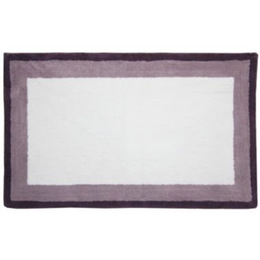 jcpenney.com | Bacova Double Frame Cotton Bath Rug