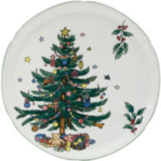 "Nikko® 11.5"" Christmas Hostess Plate"