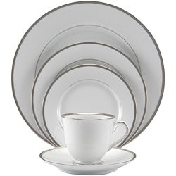 Nikko® Band of Platinum 20-pc. Dinnerware Set - Service for 4