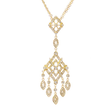"jcpenney.com | telio! by Doris Panos ""Anastasia"" Gold-Tone Chandelier Necklace"