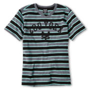 Zoo York® Striped Logo Tee - Boys 8-20