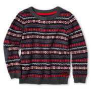 Baker by Ted Baker Jacquard Pullover Sweater - Boys 2y-6y