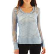 i jeans by Buffalo Open-Stitch Sweater