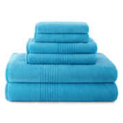 Performance Plus Microfiber 6-pc. Bath Towel Set