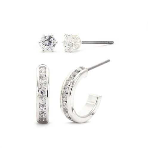 Sparkle Allure Cubic Zirconia Jewelry Set