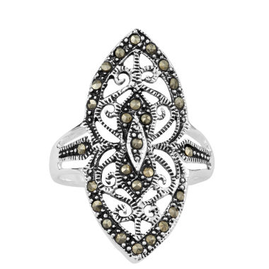 jcpenney.com | Sparkle Allure Gray Marcasite Stackable Ring