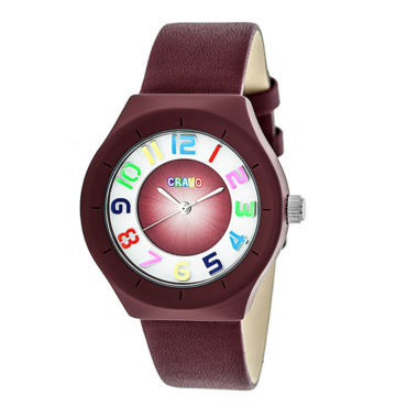 jcpenney.com | Crayo Unisex Red Strap Watch-Cracr3503