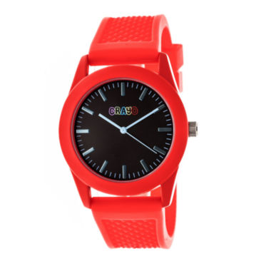 jcpenney.com | Crayo Unisex Red Strap Watch-Cracr3702