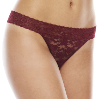 jcpenney.com | Ambrielle Lace Thong Panty