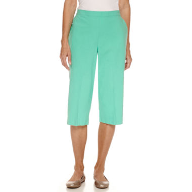 jcpenney.com | Alfred Dunner Sheeting Capris