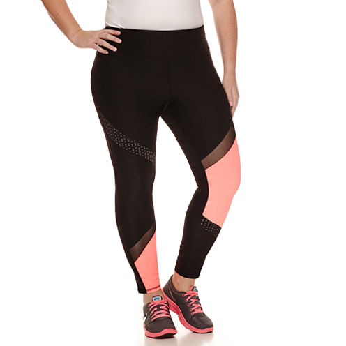Xersion Jersey Workout Capris Plus