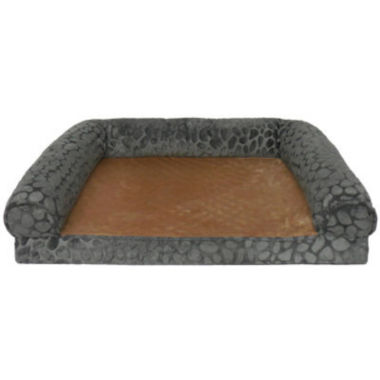 jcpenney.com | Canine Creations Ortholux Orthopedic Foam Rectangle Bolster Pet Bed