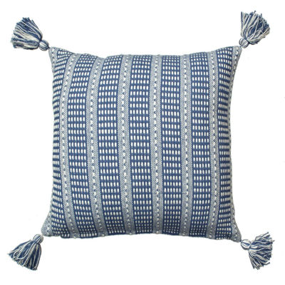 Dropstitch Throw Pillow with Tassles - JCPenney