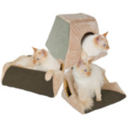 Thermo-Kitty Cabin™ Heated Cat Bed