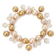 Vieste® Simulated Pearl Shaky Bracelet