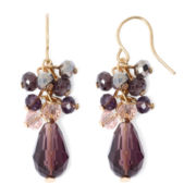 Vieste® Purple Shaky Earrings