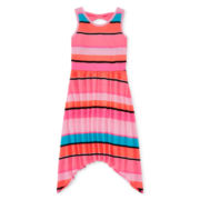 Total Girl® Bow-Back Skater Dress - Girls 7-16