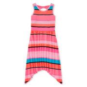 Total Girl® Bow-Back Skater Dress - Girls 7-16