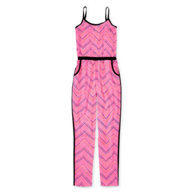 jcpenney.com | Total Girl® Sleeveless Jumpsuit - Girls 7-16