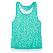 Xersion™ Burnout Tank Top - Girls 7-16 and Plus