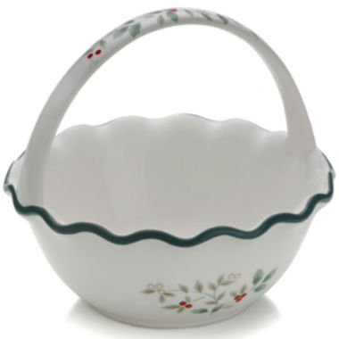 jcpenney.com | Pfaltzgraff® Winterberry Ruffled Handled Bowl