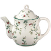 Pfaltzgraff® Winterberry Sculpted 49-oz. Heat-Retaining Teapot