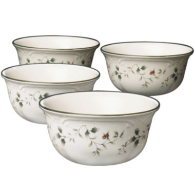 jcpenney.com | Pfaltzgraff® Winterberry Set of 4 Deep Serving Bowls