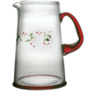 Pfaltzgraff® Winterberry 2.5-qt. Glass Pitcher