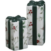 Pfaltzgraff® Winterberry Present-Shape Salt and Pepper Shakers