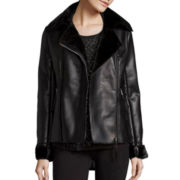 i jeans by Buffalo Faux-Leather Moto Jacket