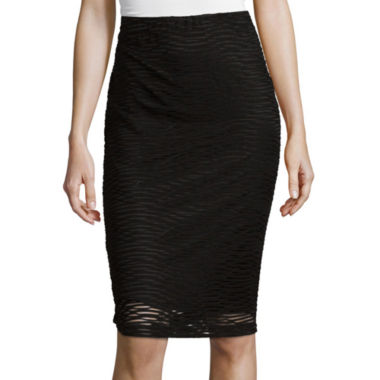 jcpenney.com | Alyx® Wavy Knit Pencil Skirt