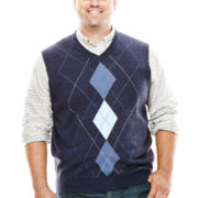 Dockers® Argyle Vest - Big & Tall