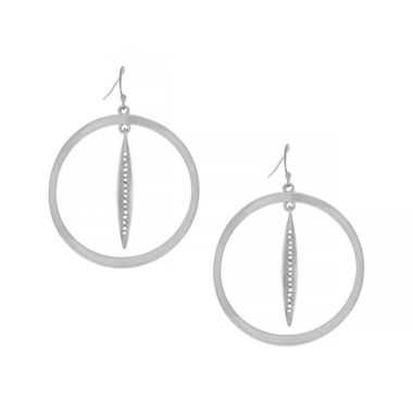 jcpenney.com | Nicole By Nicole Miller Hoop Earrings