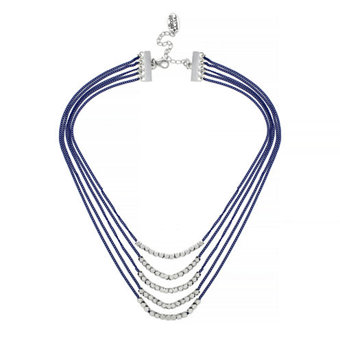 18 Inch Nicole Miller Layered Chain Necklace