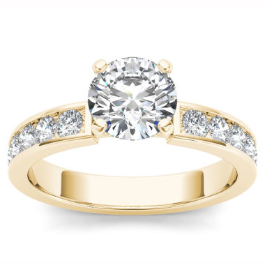 jcpenney.com | 1 1/2 CT. T.W. Round White Diamond 14K Gold Engagement Ring