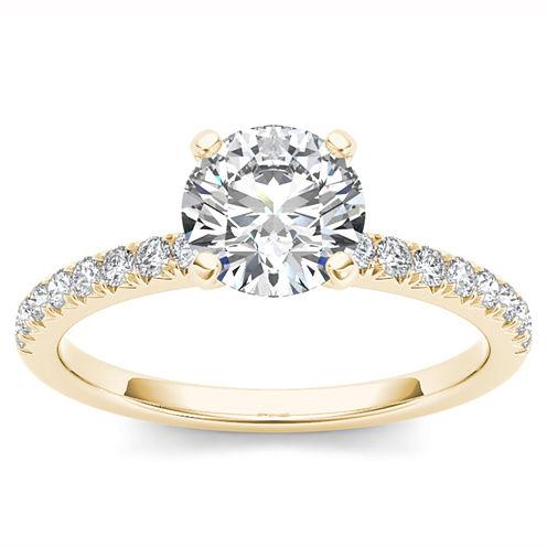 3/4 CT. T.W. Round White Diamond 14K Gold