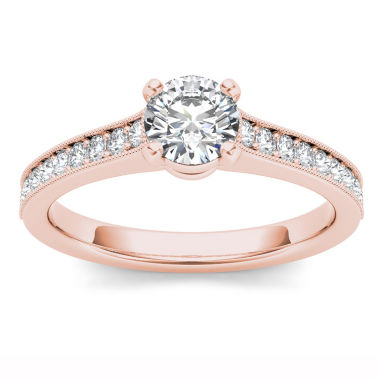 jcpenney.com | 1 1/5 CT. T.W. Round White Diamond 14K Gold Engagement Ring