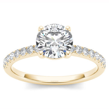 jcpenney.com | 1 1/4 CT. T.W. Round White Diamond 14K Gold Engagement Ring