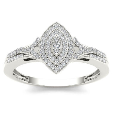 jcpenney.com | 1/5 CT. T.W. Round White Diamond 10K Gold Engagement Ring