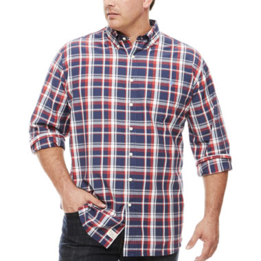 jcpenney.com | U.S. Polo Assn. Button-Front Shirt-Big and Tall