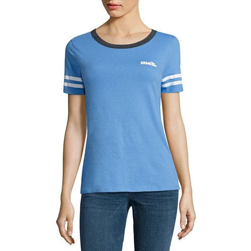 """Meh"" Graphic T-Shirt- Juniors"