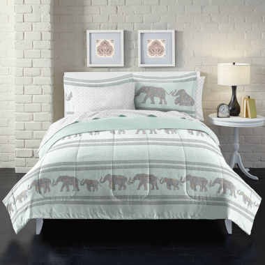 jcpenney.com | Loft Style Boho Elephant Complete Bedding Set with Sheets