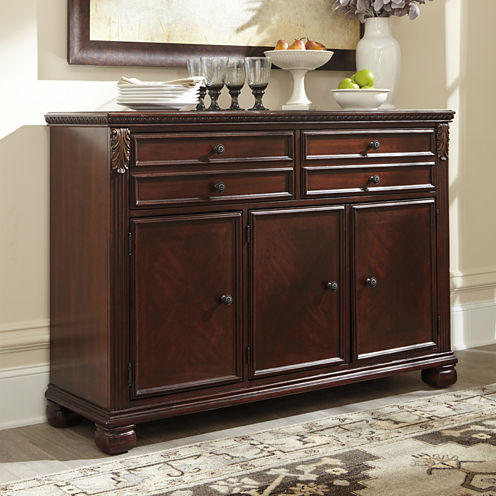 signature design by ashley leahlyn dining room buffet - Dining Room Server Furniture