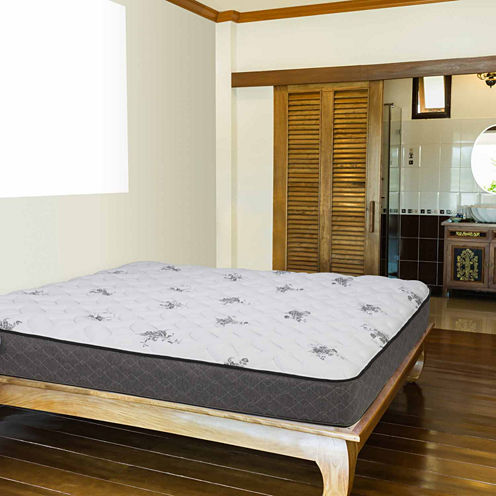 """Wolf Corporation's Tranquility Wrapped Coil and Memory Foam Hybrid 11"""" Firm Mattress"""""""