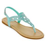 Mixit™ Rhinestone Cutout Sandals